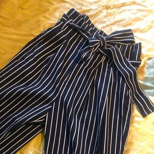 Business casual pants high waisted